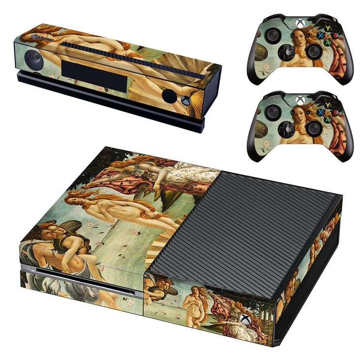 The Birth of Venus xbox one skin decal for console and 2 controllers