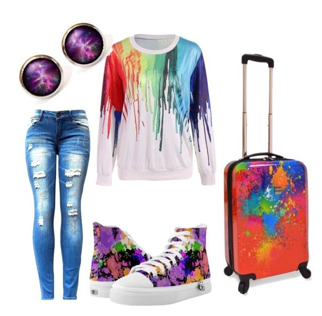 """#colors"" by sanikova on Polyvore featuring U.S. Traveler"