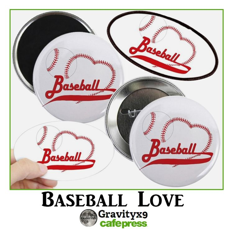 #baseball  Love Magnets, Pins, Patches and more at Cafepress by #Gravityx9 Designs  #Sports4you -   #StockingStuffers #smallsizedgifts #sportsgift #Sports