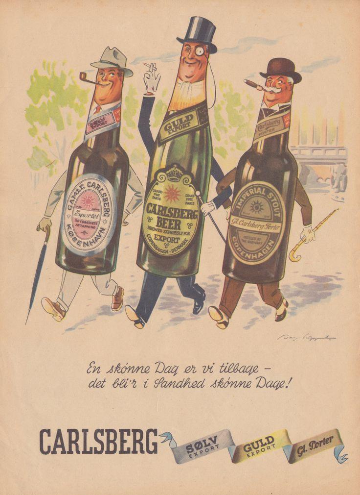 Carlsbergreklame for øl der ikke sælges | Reklamer | Blog