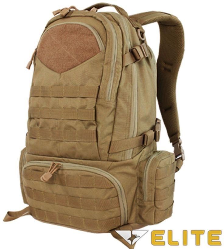 Condor Elite Titan Assault Pack Bag- Mil-Spec Outdoor Tactical Pack Backpack
