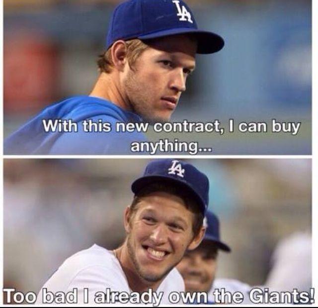 Truth! #Kershaw #Dodgers #SFGiantsSuck