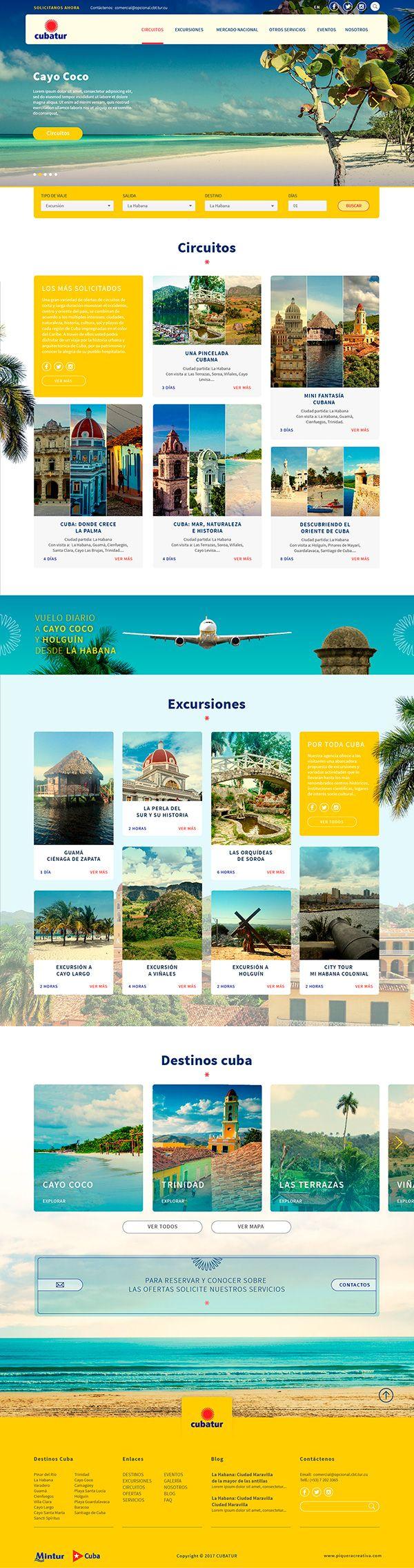 El sitio web de Cubatur La Agencia de Viajes con más años de experiencia en Cuba.