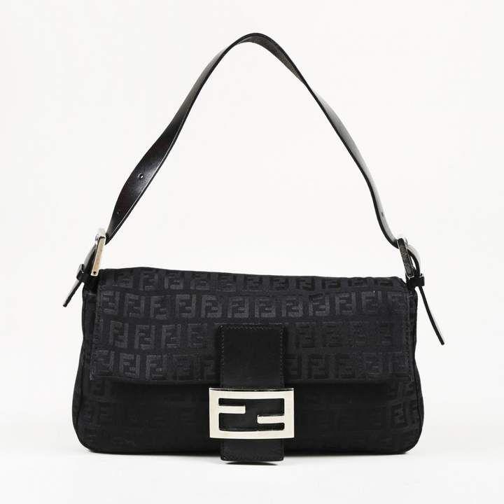 Baguette cloth handbag | Bags, Handbag outfit, Fendi handbag