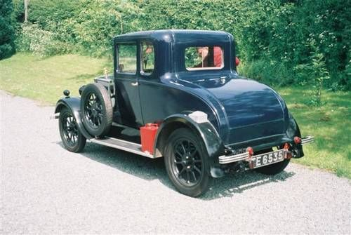 1929 Morris Cowley flatnosed Doctors Coupe.