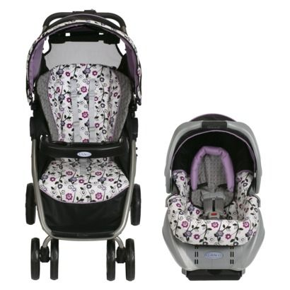 graco dynamo paige grey seat black stroller white with black purple and maroon pattern. Black Bedroom Furniture Sets. Home Design Ideas