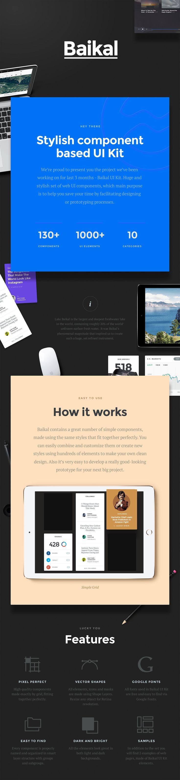 UI8 — Products — Baikal UI Kit