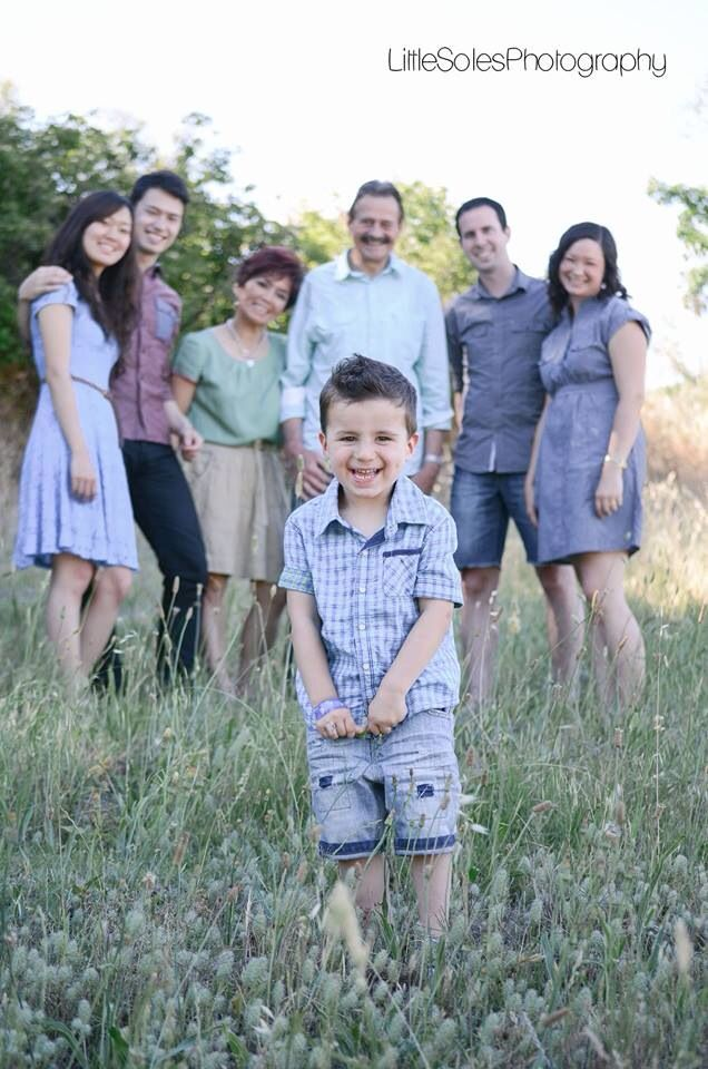 Family Photography • Extended Family Photo • Little Boy Photo