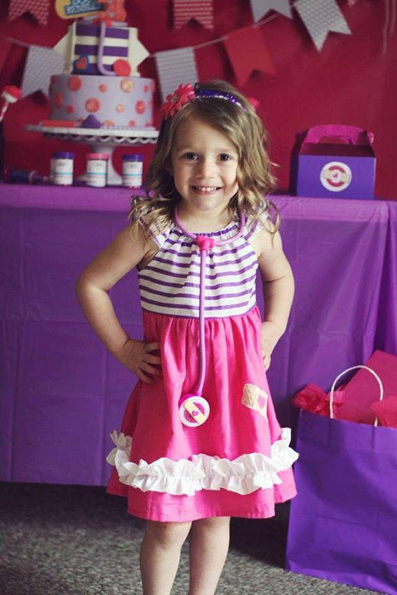 Darling Doc Mcstuffins-inspired Play Dress by sewadorablechildrens