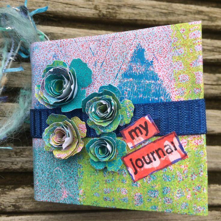 Mini gel arts journal