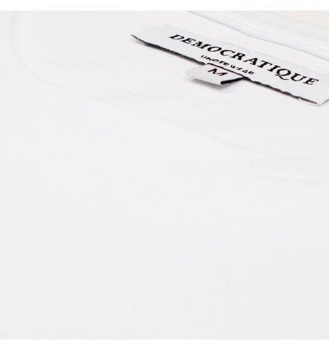 DEMOCRATIQUE UNDERWEAR Supreme T-shirt WHITE / белый