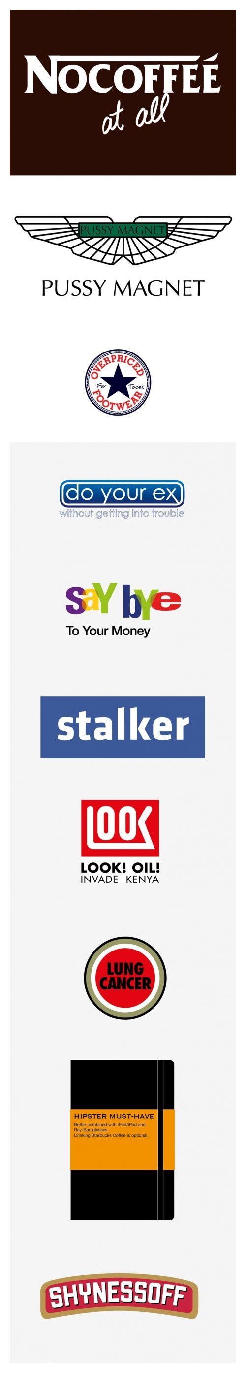 truthful branding: Branding Humor, Pin Today, Website, Graphics Design, True Logos, Funny Stuff, Random Pin, Pictures Today, Design Stuff