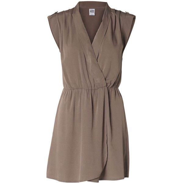 Vero Moda New Rolig S/S Short Dress - Nfsi ($32) ❤ liked on Polyvore