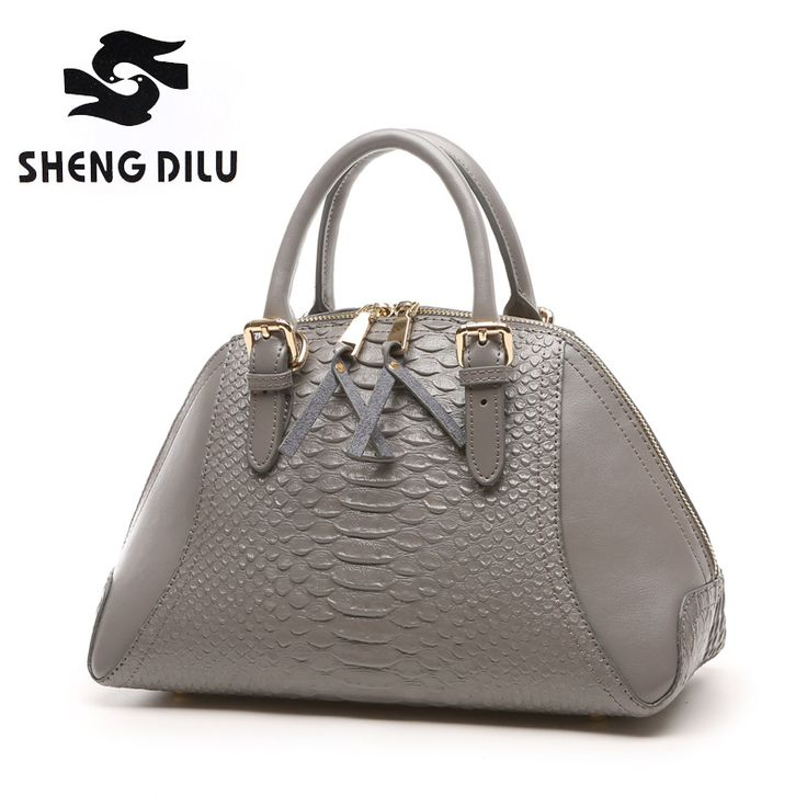 2016 Famous Designers Brand Crocodile Women Genuine Leather Embossed Bag  Handbags Luxury Cowhide Shoulder Messenger Tote 9534a3e8bb