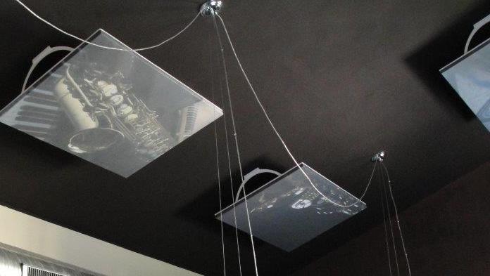 fonostile® #restaurant #ceiling trumpet