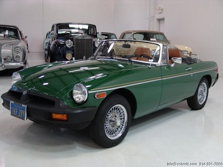 This is the car I wanted when I learned to drive, a 1977 MGB.  Maybe someday my …