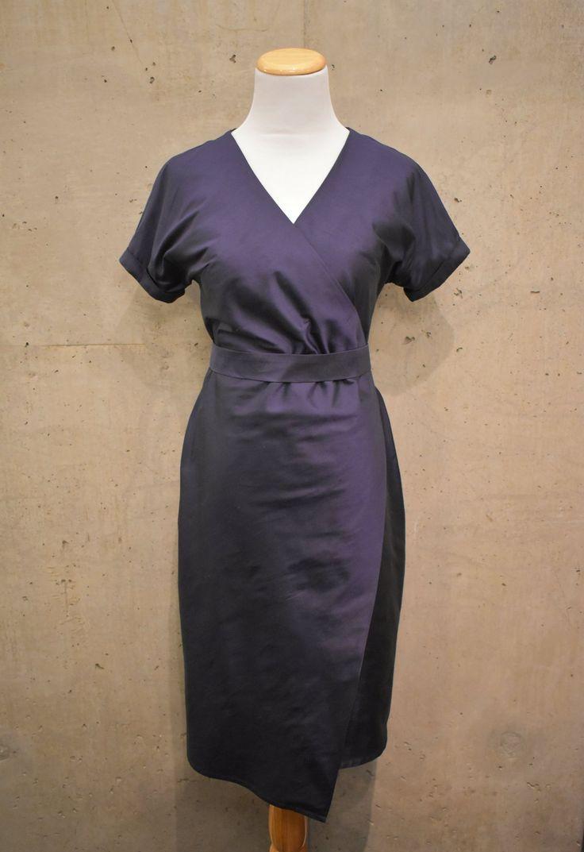 Shoreline Silk Wrap Dress