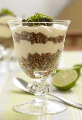 At tage det sure med det søde får en helt ny og delikat betydning i denne dessert