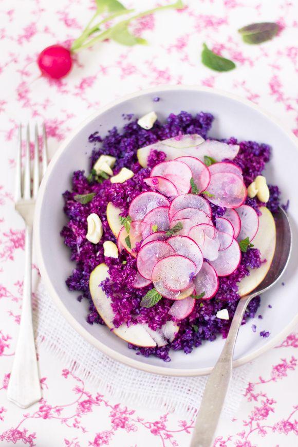 Cavolo cappuccio, sedano, ravanelli (Bellissimi colori! Stupenda foto! Grazie per la ricetta!)