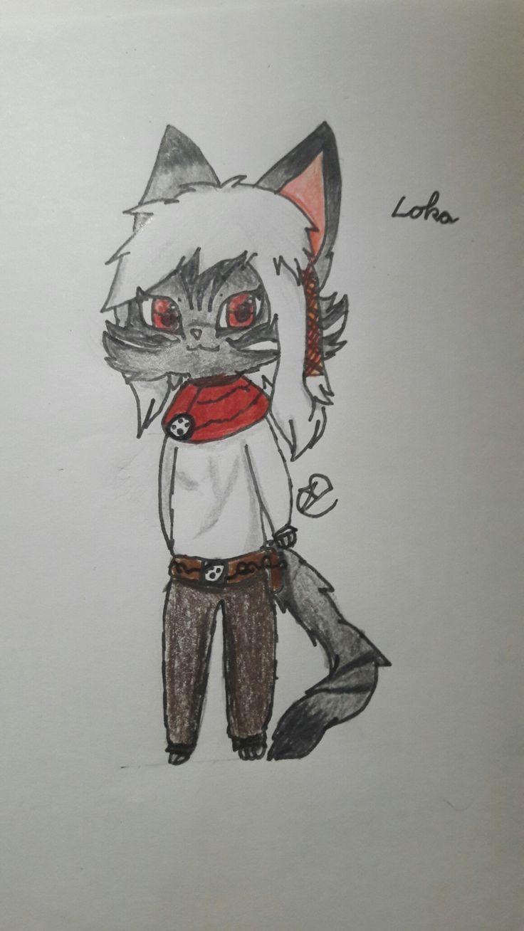 Loka (gezeichnet von mir)