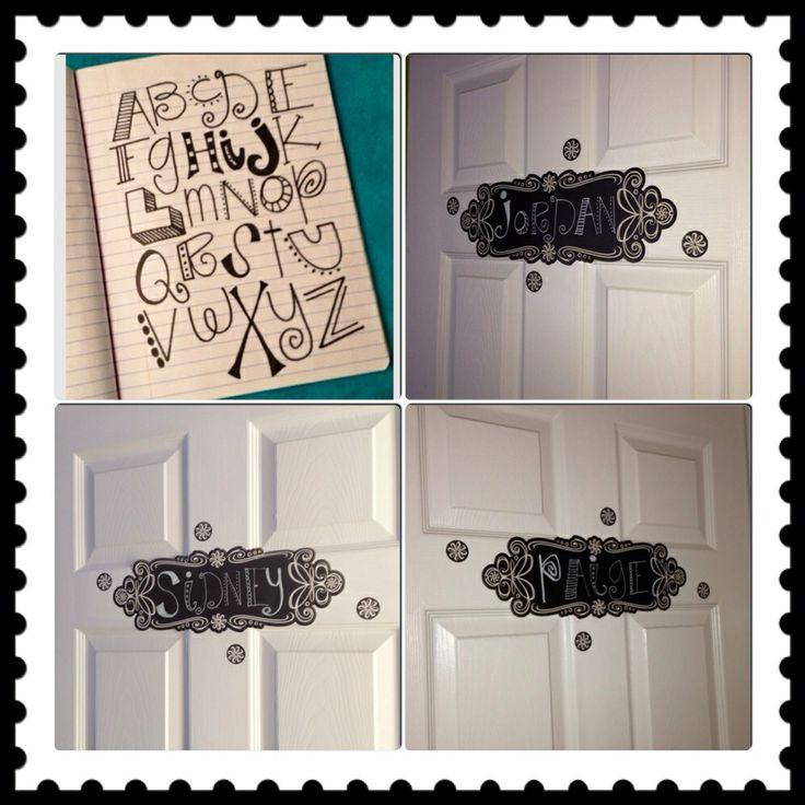 bedroom door signs room ideas for my girls pinterest door signs