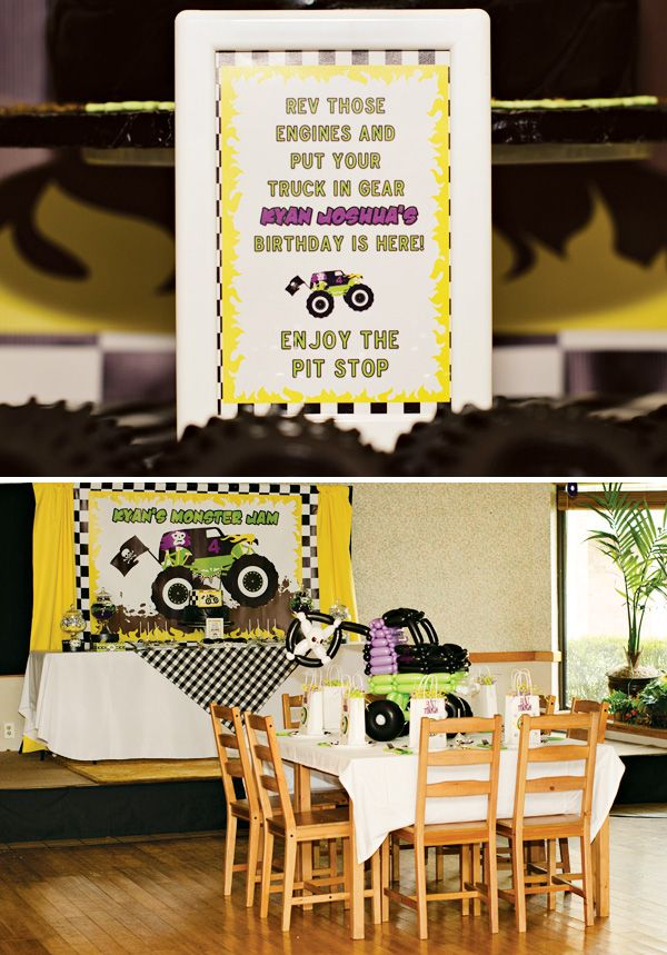 25 best Grave Digger Birthday Ideas images on Pinterest Monster