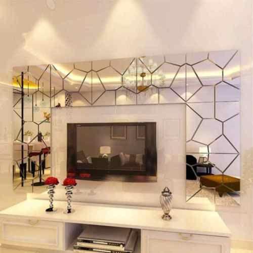 18cm-7Pcs-DIY-Acrylic-Modern-Mirror-Decal-Art-Mural-Wall-Sticker-Home-Decor-Remo