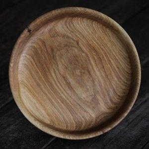 QUWIT II, Oak Wooden Platter made by Loved Things | Un superb castron din lemn masiv, unicat, handmade, un produs creatie Loved Things