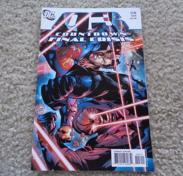 DC Comics Countdown to Final Crisis #3 June, 2008