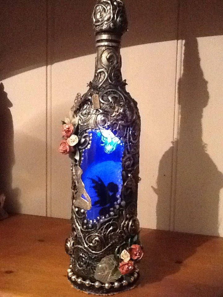 A personal favourite from my Etsy shop https://www.etsy.com/uk/listing/559087278/glass-fairy-bottle-light