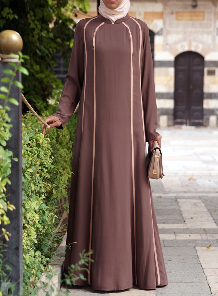 A Stylish Sporty #abaya from shukronline.com | Kamila Abaya