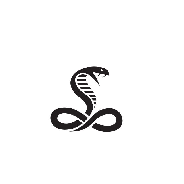 cobra logo vector in 2020 vector logo snake logo pet logo design pinterest