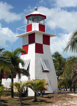 The lighthouse in Key Largo - it's more like a playhouse - Whitney and I got to climb up into it - it's tiny compared to most; used to light the way of the local boats mainly but the owner was very nice and has a great venue for weddings!!!