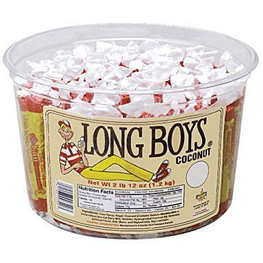 Coconut Long Boys, 2 lb. Tub