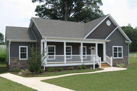 Love the exterior and trim colors. Floor Plans: The Trenton I - Manufactured and Modular Homes