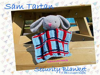 The Sam Tartan Security Blanket is a new pattern from the exciting range A Land Close By - a magical land full of playful characters and built with imagination. This sweet and cuddly Sam Tartan Security Blanket is the perfect thing to help your little prince snuggle down for the night for sweet and peaceful dreams. It will become your little ones inseparable friend.