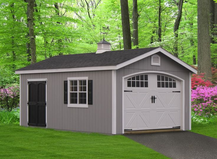 Amish Custom Garages : Best images about amish sheds homestead stuctures on