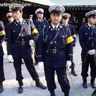 Japanese gay police