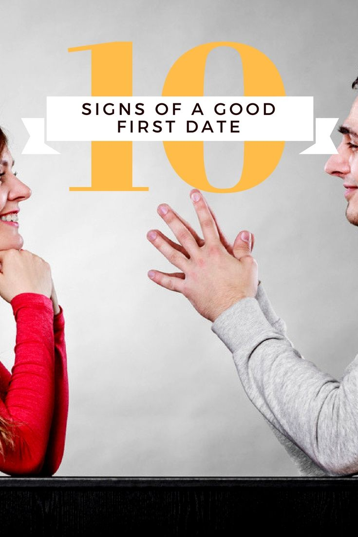 10 Signs of a Good First Date