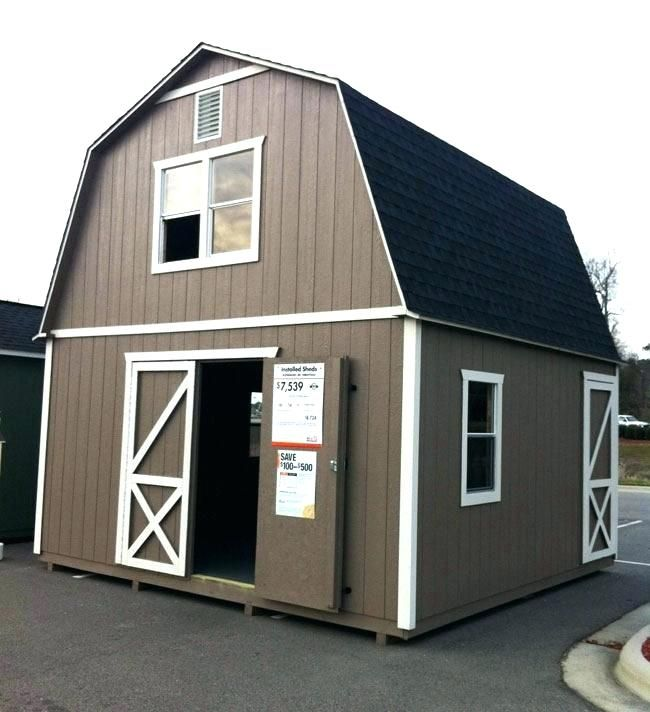 Home Depot Storage Sheds Wood Ideas In 2020 Home Depot Tiny