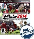 Pro Evolution Soccer 2014 - PRE-Owned - PlayStation 3, PRE OWNED