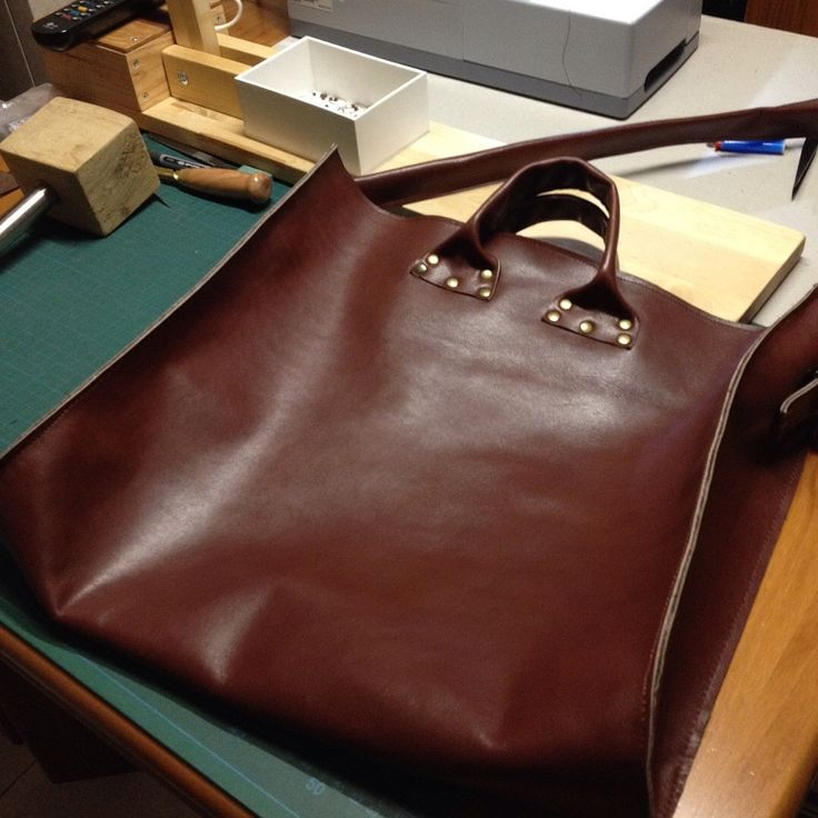 Leather work - tote