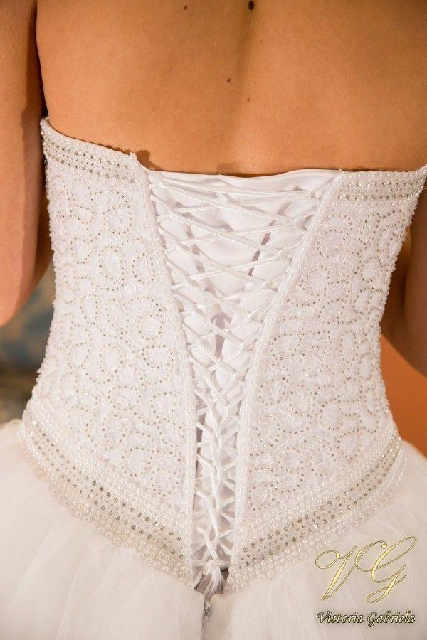Suknia ślubna nr 10 z kolekcji Toscana #victoriagabriela #weddingdress