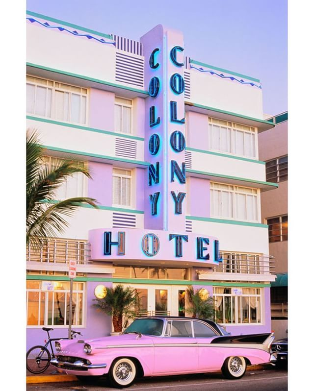 The Colony Hotel In Miami Is One Of The