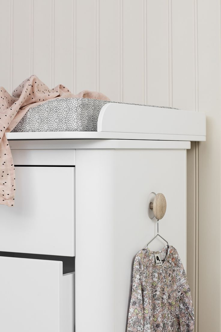 Keep it stylish in your kids' room - Wood six drawer dresser in white by Oliver Furniture  at Nubie. https://www.nubie.co.uk/childrens-furniture/chest-drawers/wood-six-drawer-dresser-white-oliver-furniture