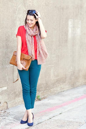 Red + Teal