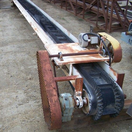 16 inch x 30 foot Sand Conveyor for sale | 16 in x 30 ft Conveyor supplier worldwide