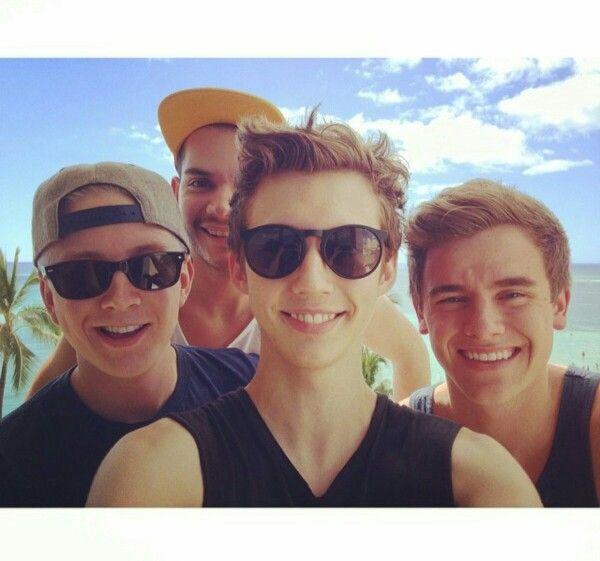 Tyler, Troye, Connor, and Korey. | youtubers | Pinterest