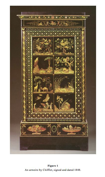 An Armoire By Chiffiot Signed And Dated 1847 @ Carlton Hobbs New York