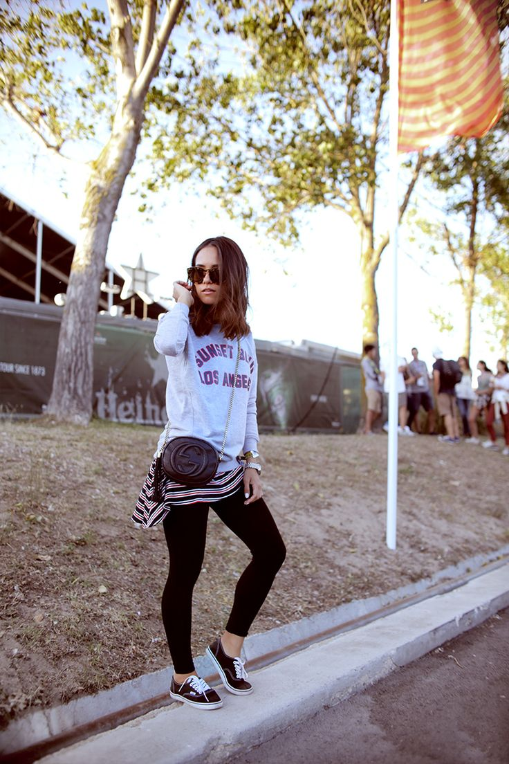 Nisi's Festival Outfit at the NOS Alive festival in Lisbon